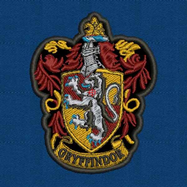 escudo de gryffindor para bordar