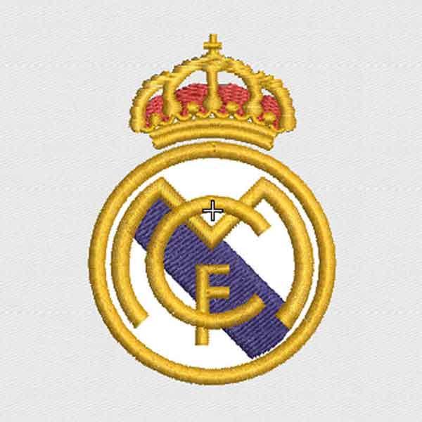 Escudo de Real Madrid Bordado